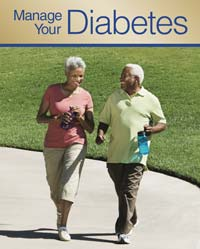 Manage Your Diabetes booklet